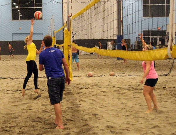 6pack indoor beach volleyball