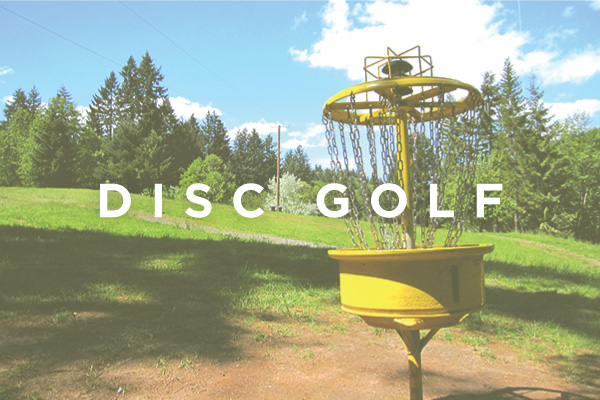 disc golf pender island