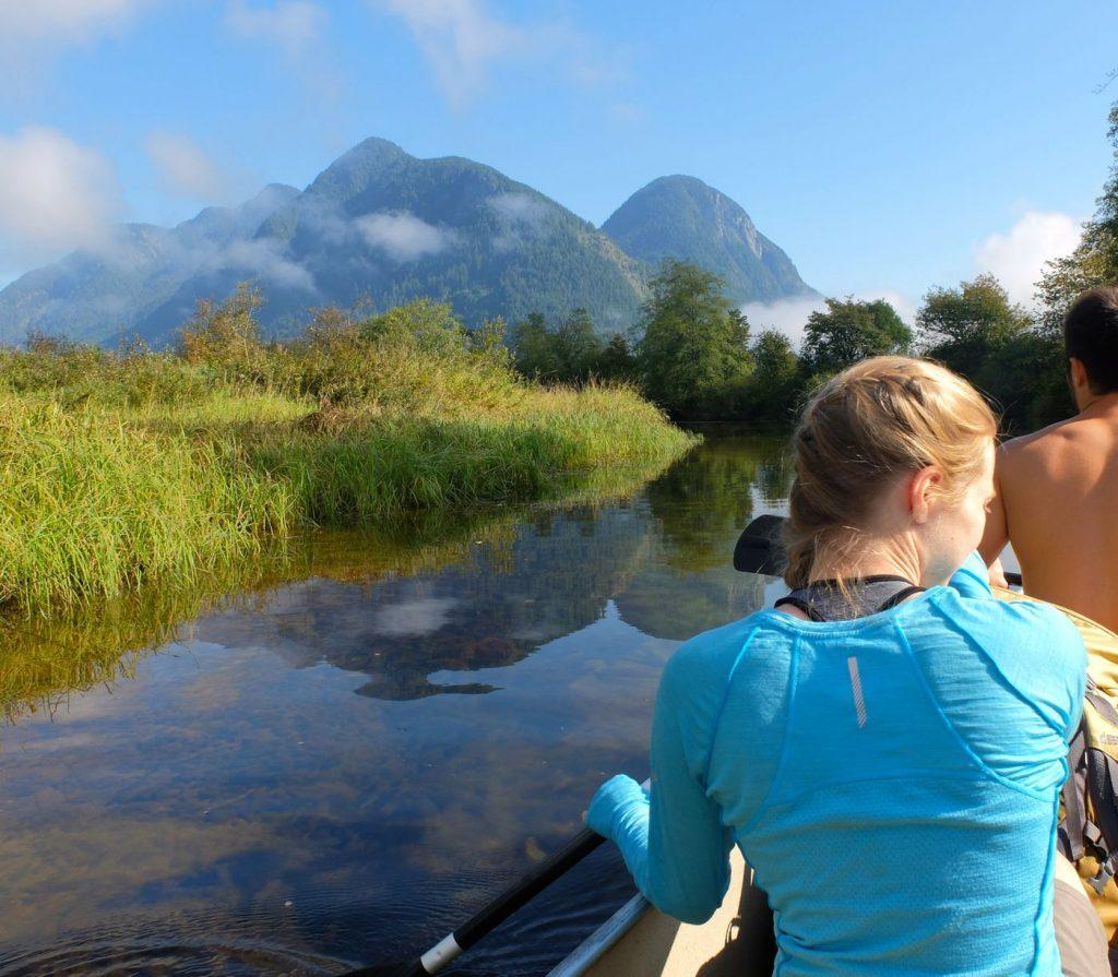 widgeon lake canoe trip