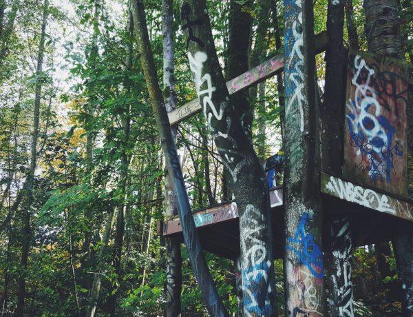 secret treehouse burnaby