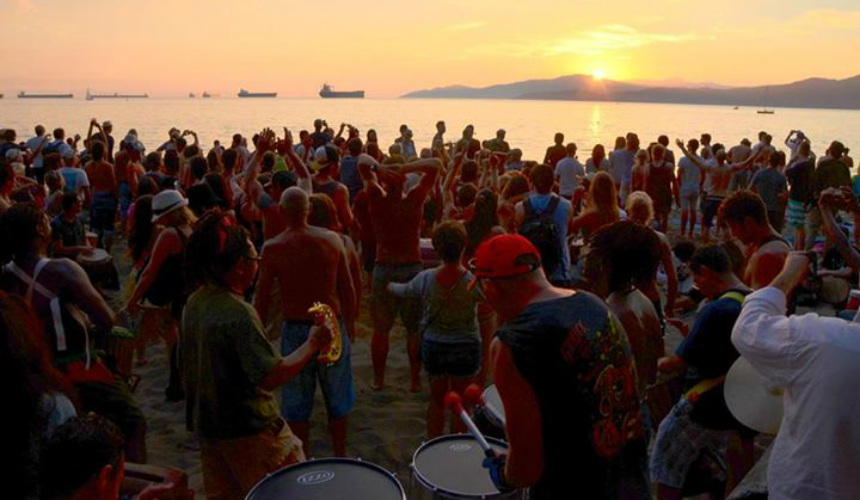 drum circle vancouver