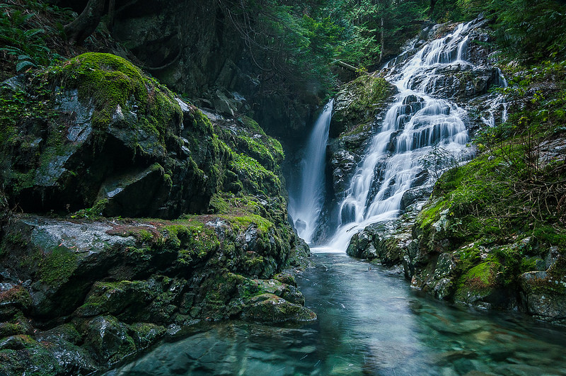 north vancouver waterfall hikes