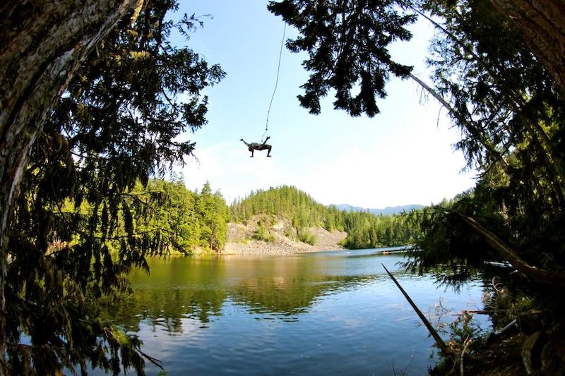whistler rope swing