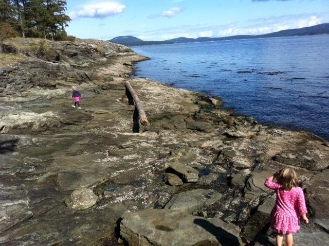 Saltspring island weekend trip