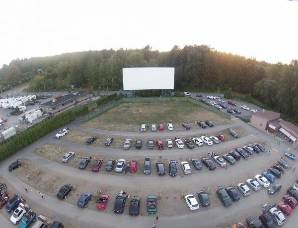 twilight drive-in movie theatre