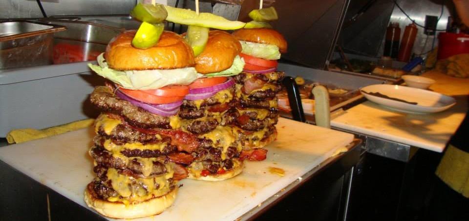 beast burger food challenge