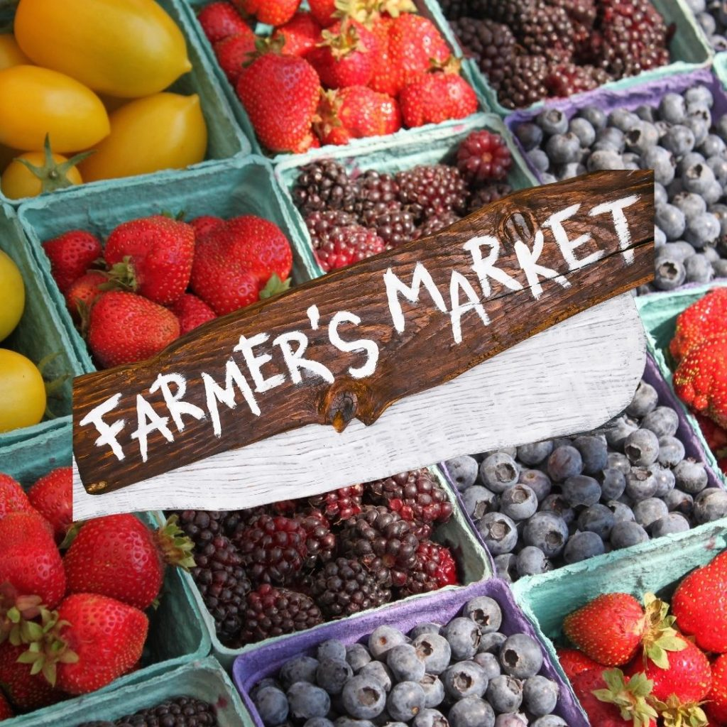 Famers market in Vancouver