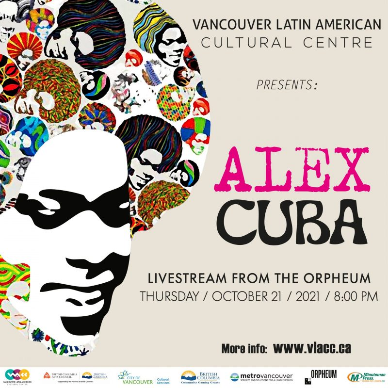 Alex Cuba streaming live