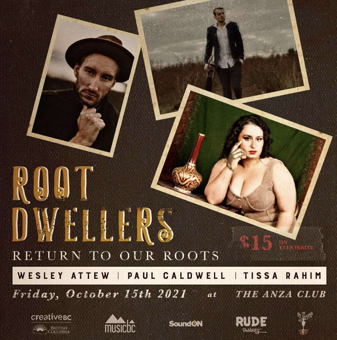 Root Dwellers - Bored in Vancouver