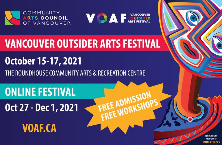 Vancouver Arts Festival graphic